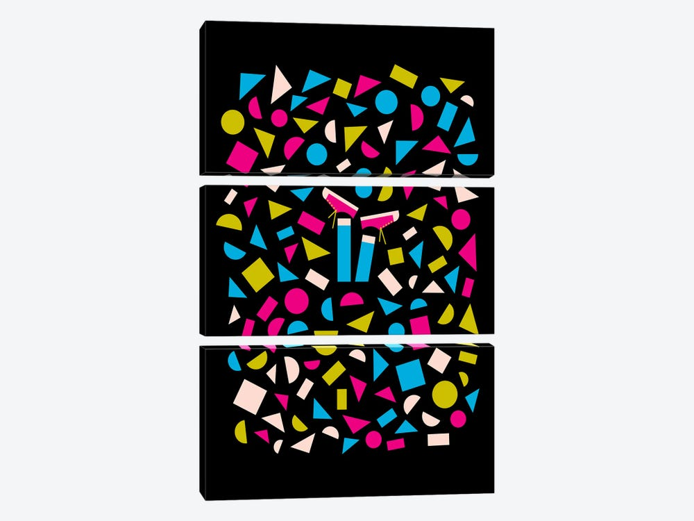 Headfirst by Greg Mably 3-piece Canvas Print