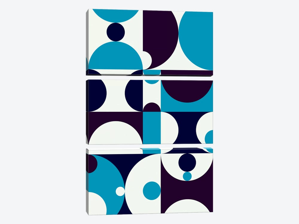 Radia I by Greg Mably 3-piece Canvas Art Print