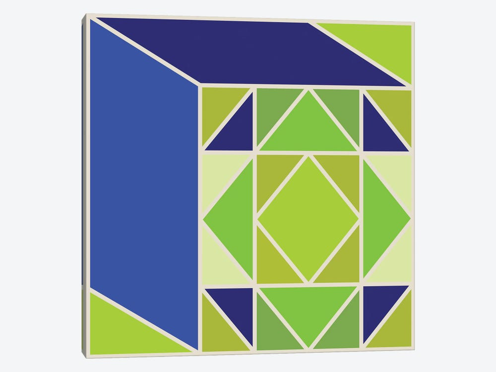 Structure I by Greg Mably 1-piece Art Print