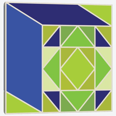 Structure I Canvas Print #GMA51} by Greg Mably Canvas Art