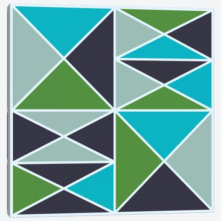 Structure III (Cool) Canvas Print #GMA53} by Greg Mably Canvas Art