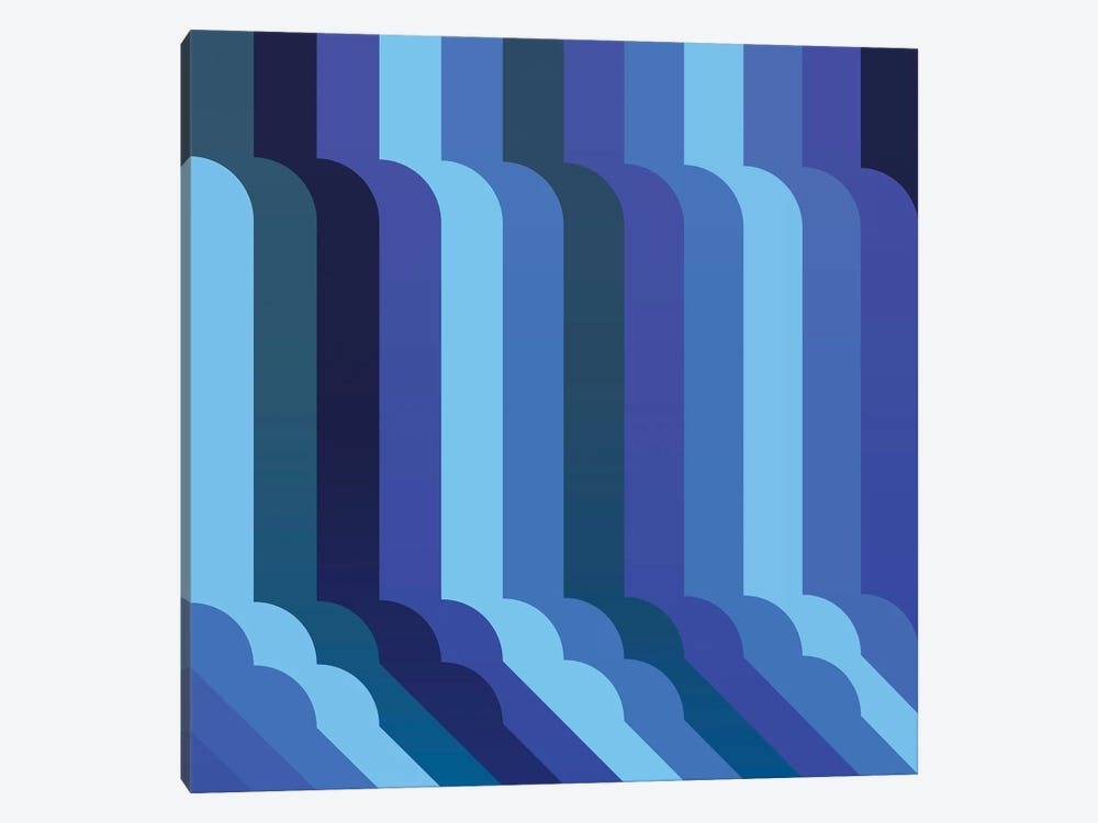 Waterfall by Greg Mably 1-piece Canvas Art Print