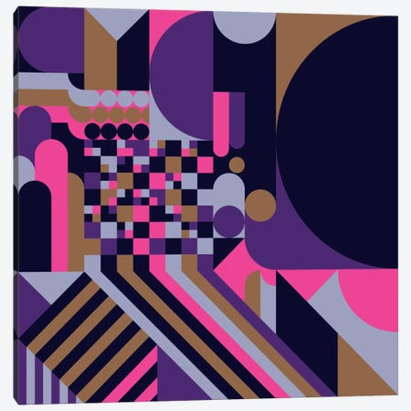 Arcade Canvas Print #GMA59} by Greg Mably Canvas Wall Art