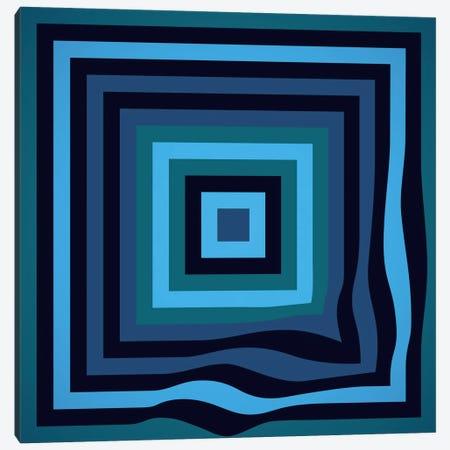 Blue Ripple Canvas Print #GMA62} by Greg Mably Art Print