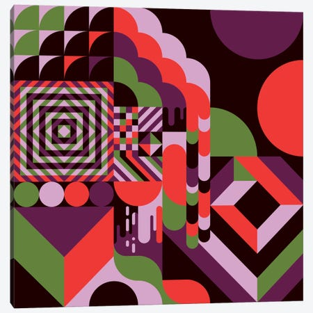 Fun House Canvas Print #GMA67} by Greg Mably Canvas Artwork