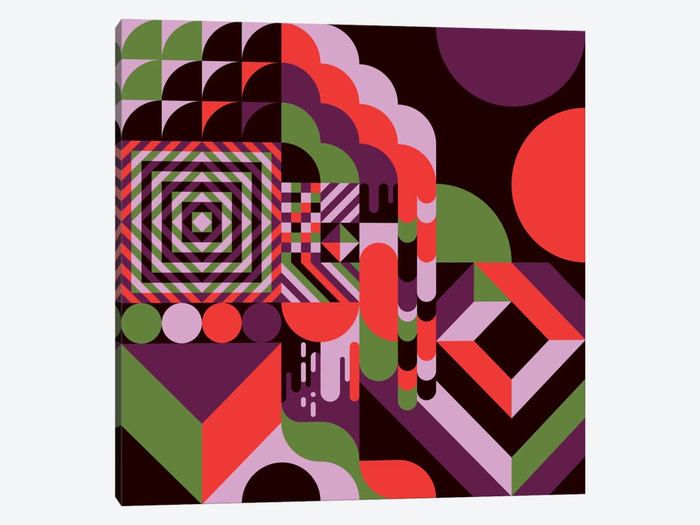 Fun House by Greg Mably 1-piece Canvas Wall Art