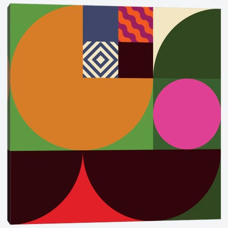 Geo I Canvas Print #GMA68} by Greg Mably Art Print