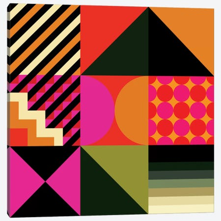 Geo II Canvas Print #GMA69} by Greg Mably Canvas Art Print