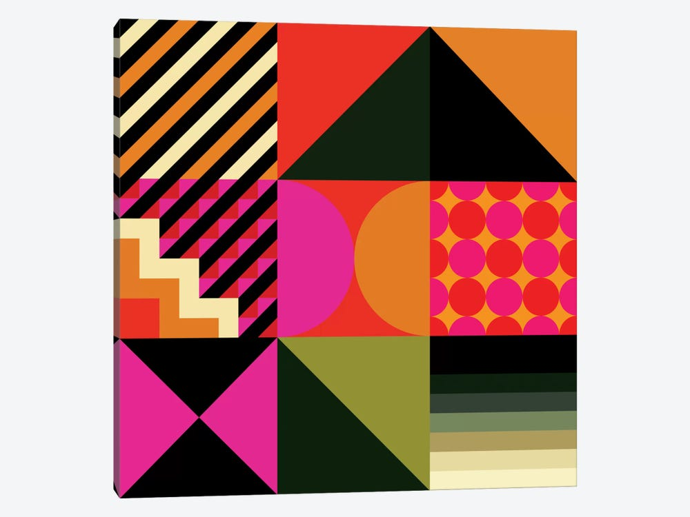 Geo II by Greg Mably 1-piece Canvas Art