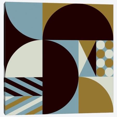 Geo III Canvas Print #GMA70} by Greg Mably Canvas Wall Art
