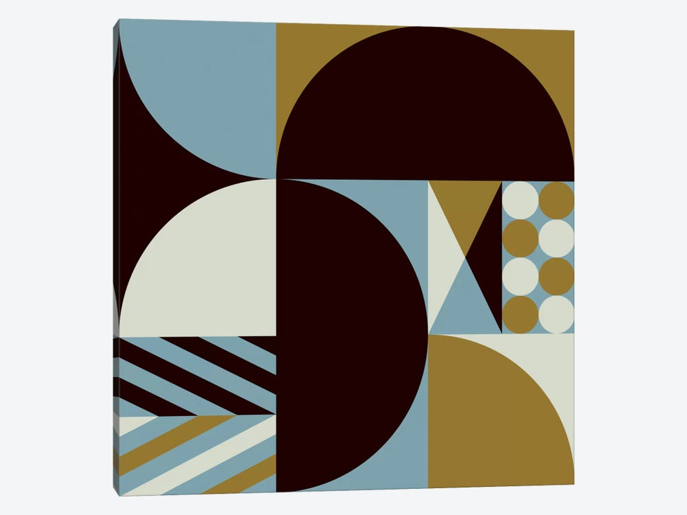 Geo III by Greg Mably 1-piece Canvas Wall Art