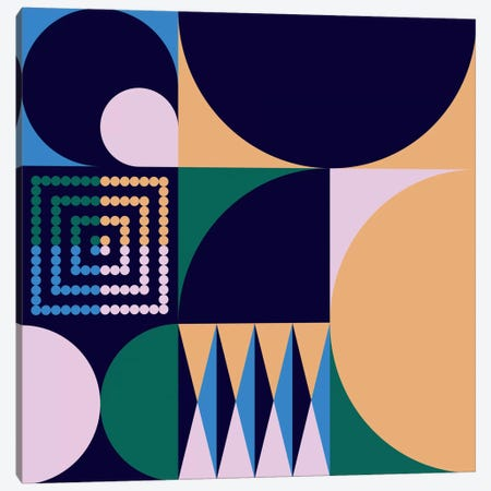 Geo IV Canvas Print #GMA71} by Greg Mably Canvas Artwork