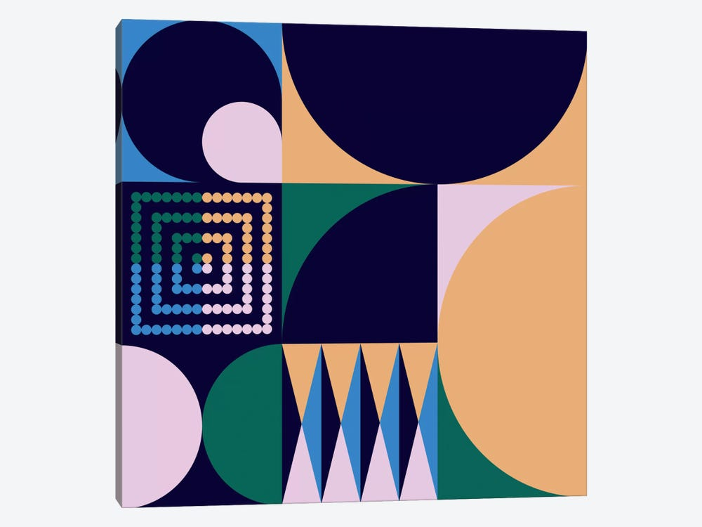 Geo IV by Greg Mably 1-piece Canvas Art Print