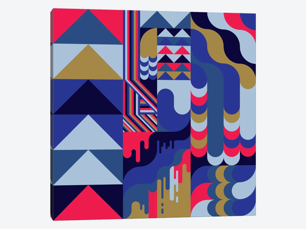 Lava by Greg Mably 1-piece Canvas Print