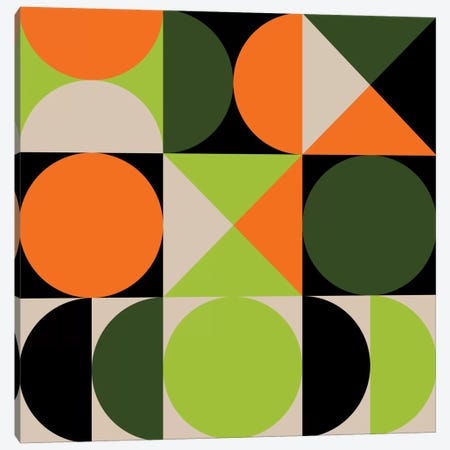Tic-Toc I Canvas Print #GMA77} by Greg Mably Canvas Print