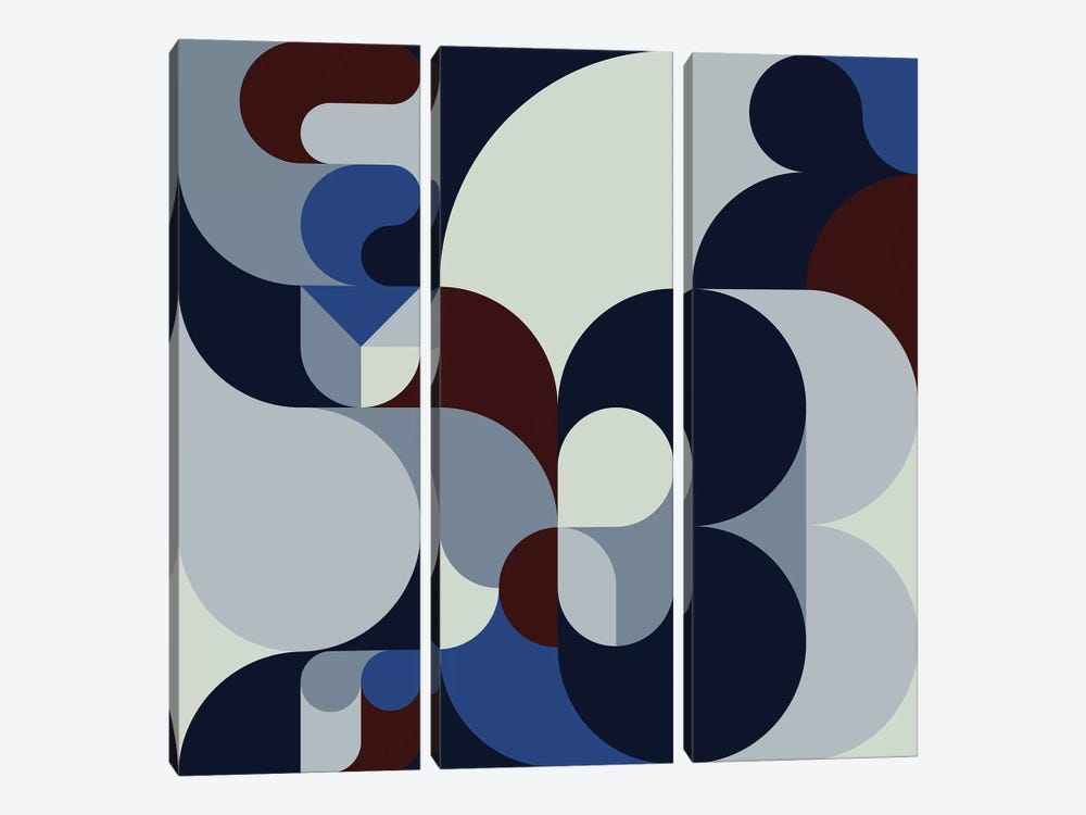 Bloom by Greg Mably 3-piece Canvas Print