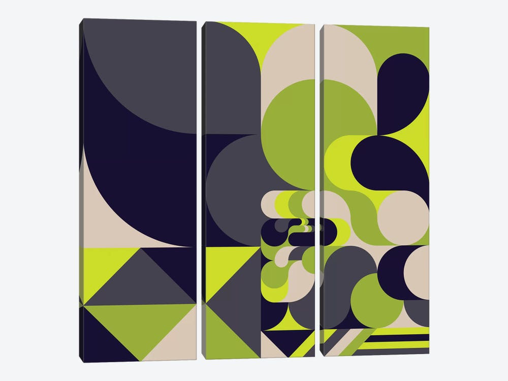 Moss by Greg Mably 3-piece Canvas Art