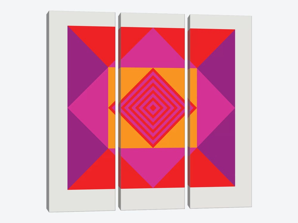 Point by Greg Mably 3-piece Canvas Artwork
