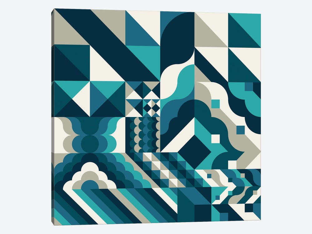 Wave by Greg Mably 1-piece Canvas Art Print