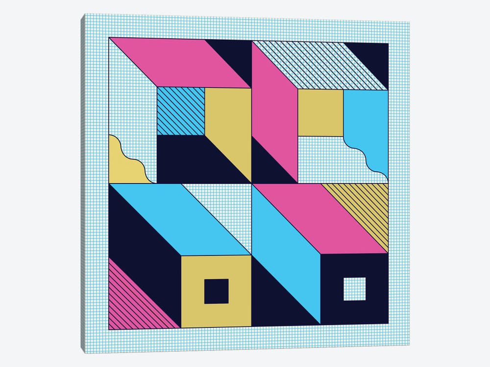 Quadra by Greg Mably 1-piece Canvas Art Print