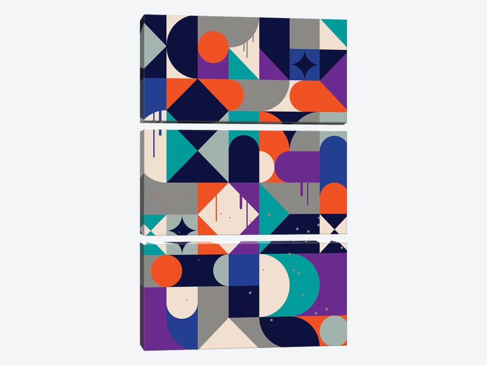 Reno by Greg Mably 3-piece Art Print
