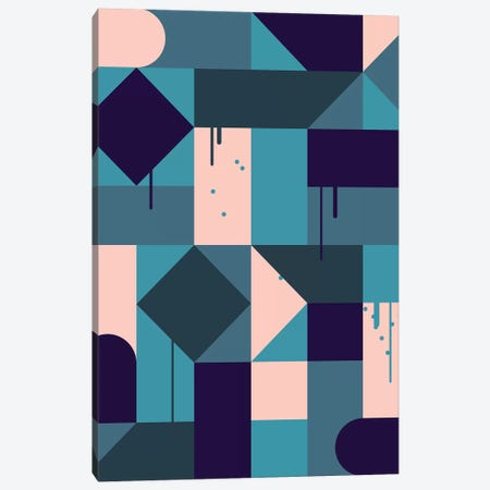 Villa Canvas Print #GMA95} by Greg Mably Canvas Print