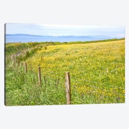 Bucolic Scene XII Canvas Print #GMI21} by Golie Miamee Canvas Print