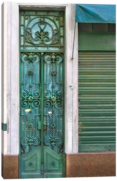 Doors Abroad I Canvas Art Print