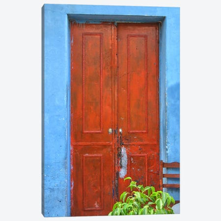 Doors Abroad III 3-Piece Canvas #GMI27} by Golie Miamee Canvas Art