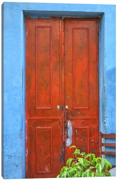 Doors Abroad III Canvas Art Print