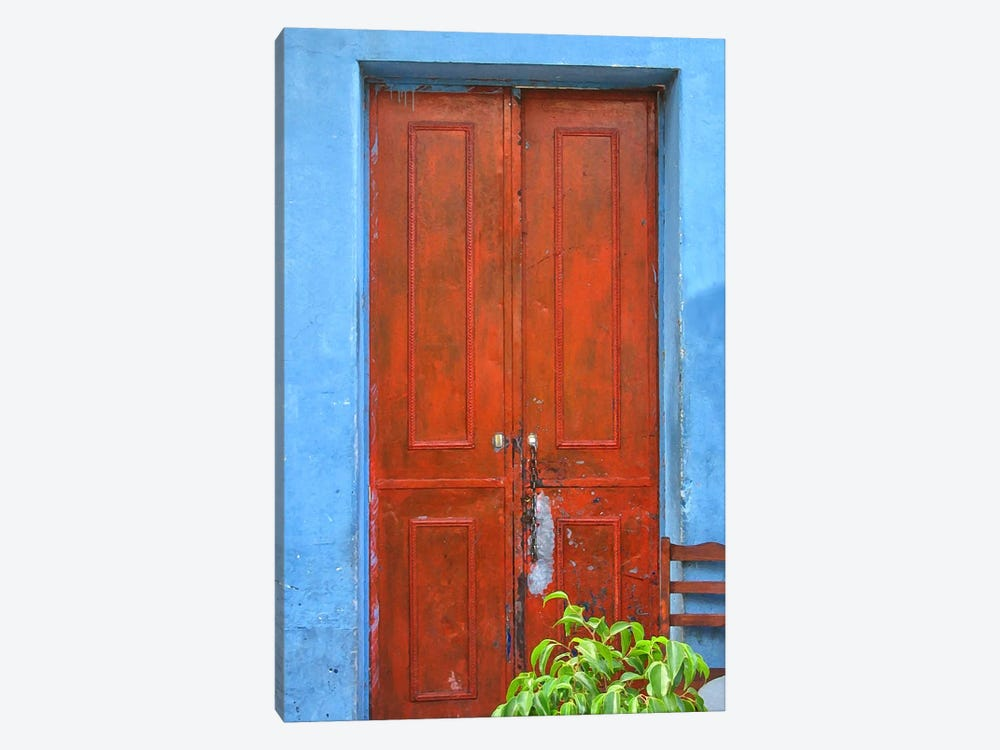 Doors Abroad III by Golie Miamee 1-piece Canvas Print