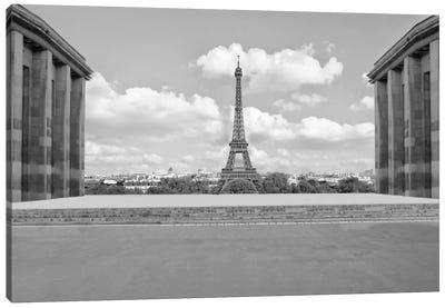 Eiffel From Afar I Canvas Art Print