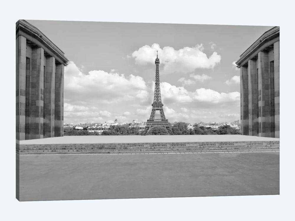 Eiffel From Afar I by Golie Miamee 1-piece Canvas Art