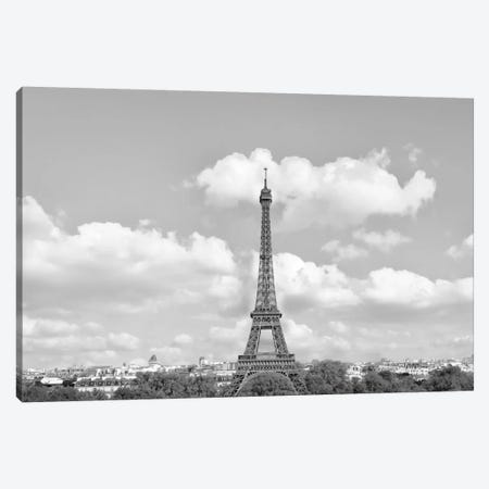 Eiffel From Afar II Canvas Print #GMI29} by Golie Miamee Canvas Print