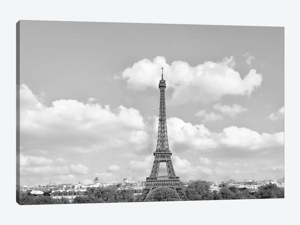 Eiffel From Afar II by Golie Miamee 1-piece Art Print