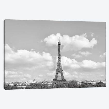 Eiffel From Afar II Canvas Print #GMI29} by Golie Miamee Canvas Print