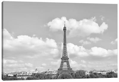 Eiffel From Afar II Canvas Art Print