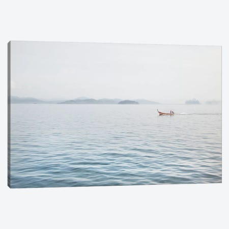 Exotic Waters I Canvas Print #GMI30} by Golie Miamee Canvas Art