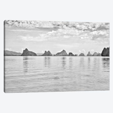 Exotic Waters II Canvas Print #GMI31} by Golie Miamee Canvas Artwork