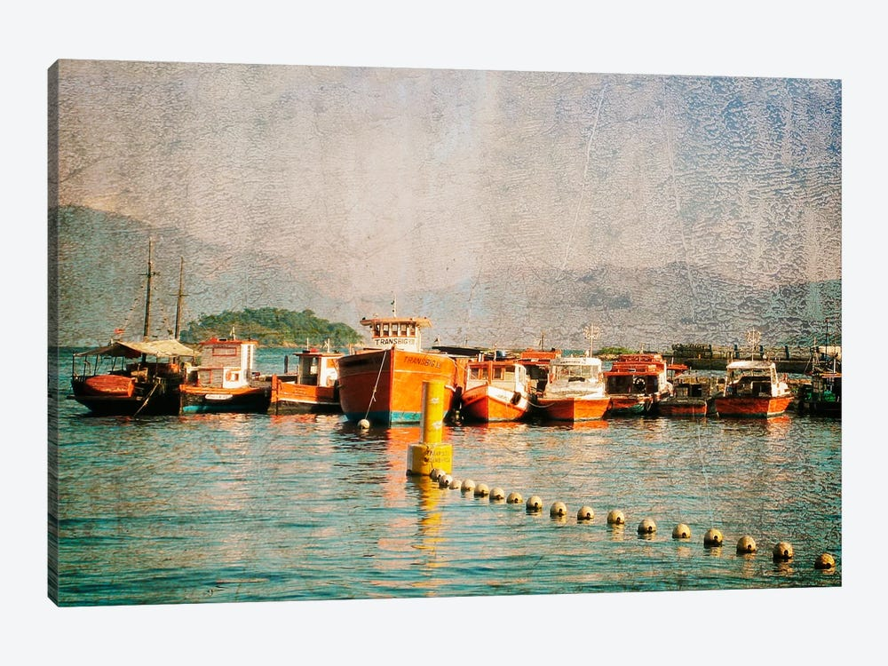 Exotic Waters VIII by Golie Miamee 1-piece Canvas Wall Art