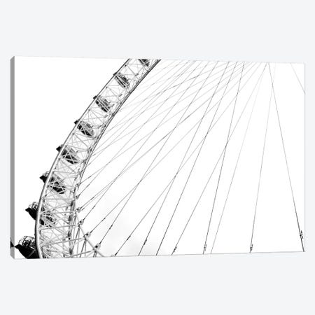 Spinning Wheel I Canvas Print #GMI40} by Golie Miamee Art Print