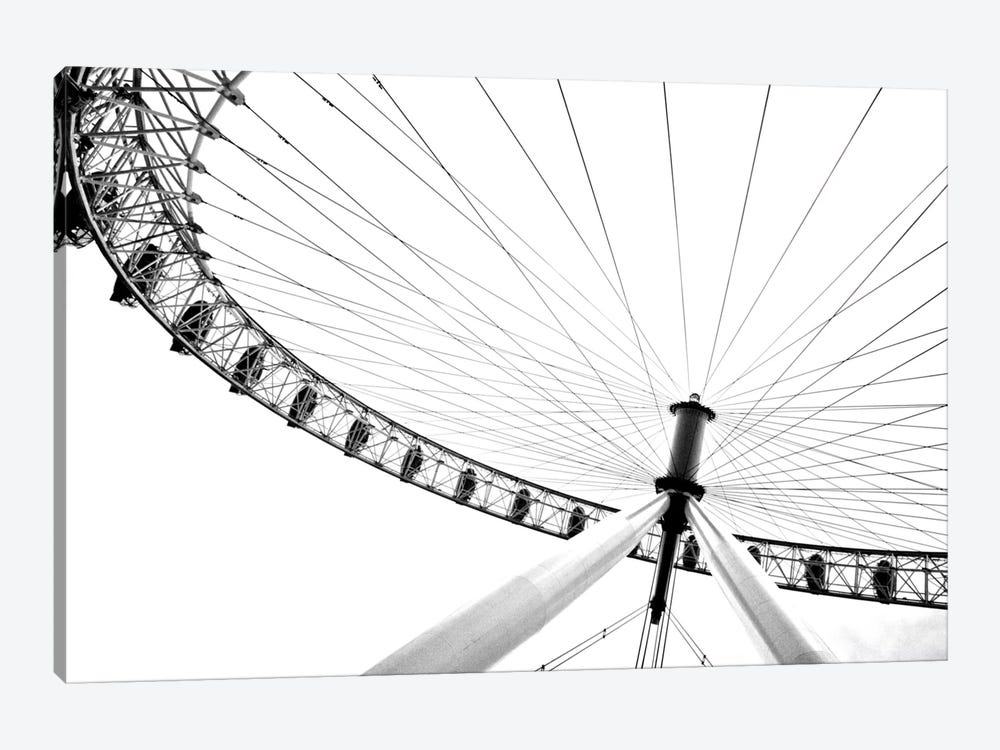Spinning Wheel II by Golie Miamee 1-piece Art Print