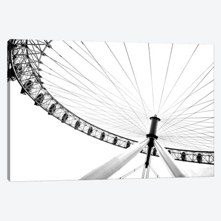 Spinning Wheel II Canvas Print #GMI41} by Golie Miamee Canvas Art Print