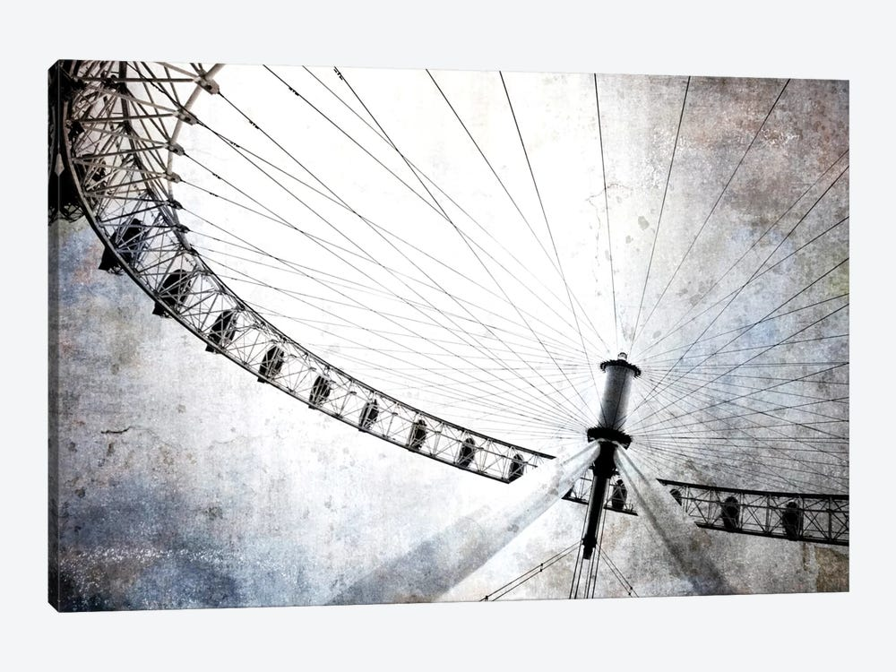 Spinning Wheel IV by Golie Miamee 1-piece Canvas Print