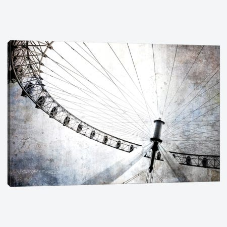 Spinning Wheel IV Canvas Print #GMI43} by Golie Miamee Art Print