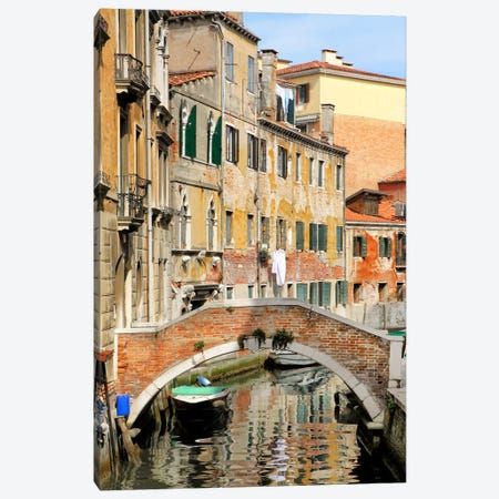 Venice View II Canvas Print #GMI50} by Golie Miamee Canvas Artwork