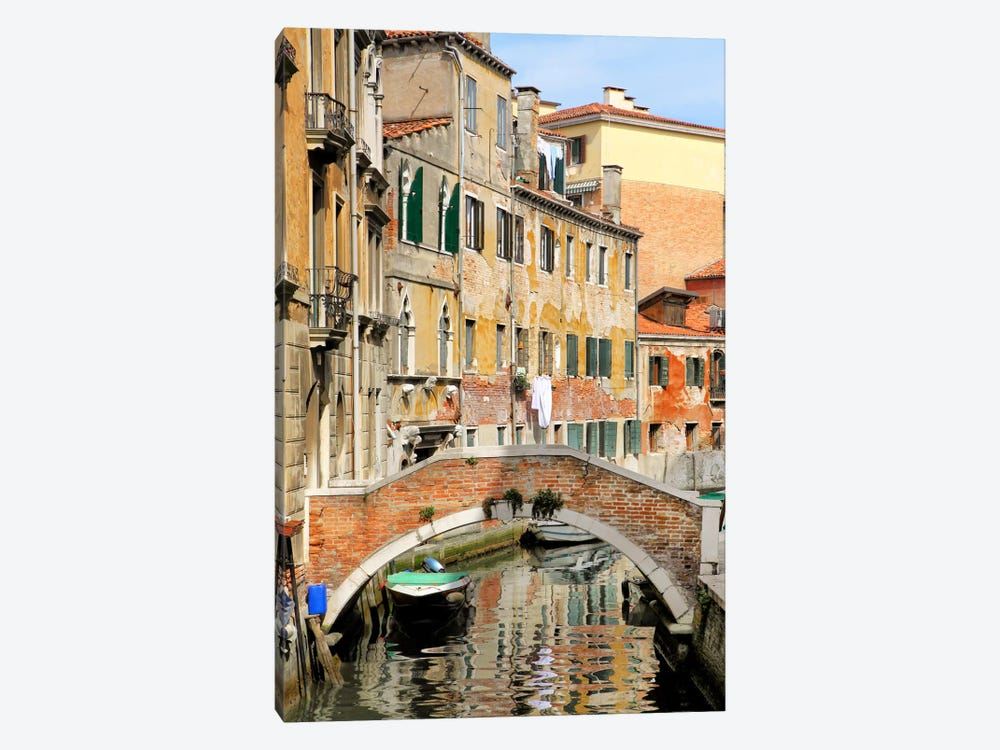 Venice View II by Golie Miamee 1-piece Canvas Art Print