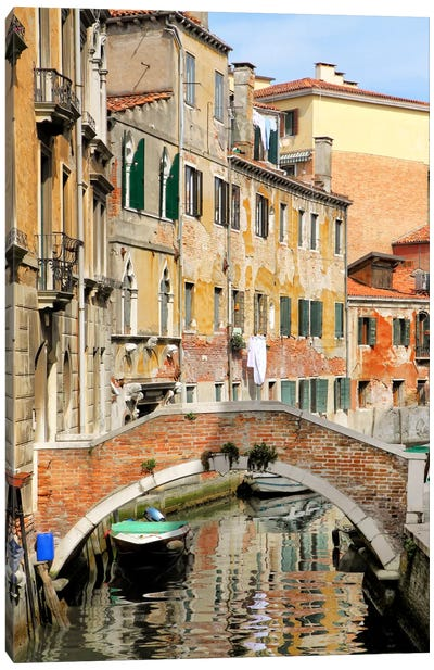 Venice View II Canvas Art Print
