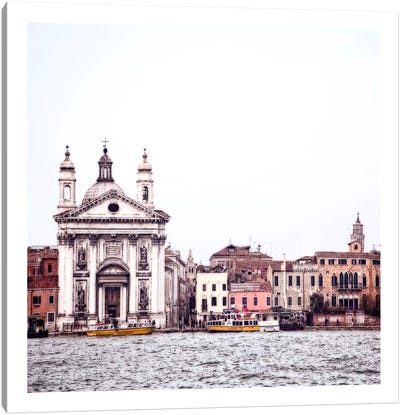 Venice View III Canvas Art Print