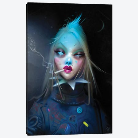 Lead Canvas Print #GMT5} by Gianluca Mattia Canvas Art Print